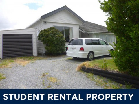 View profile: RICCARTON - STUDENT ACCOMMODATION 2019 - FOUR BEDROOMS, HEAT PUMP, GARAGE