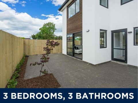 View profile: ST ALBANS - NEAR NEW 3 X BEDROOM, 3 X BATHROOM TOWNHOUSE