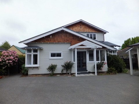 View profile: MERIVALE - 5 X BEDROOM HOUSE & OFFICE, 2 X LIVING, 3 X HEATPUMPS, DOUBLE GARAGE