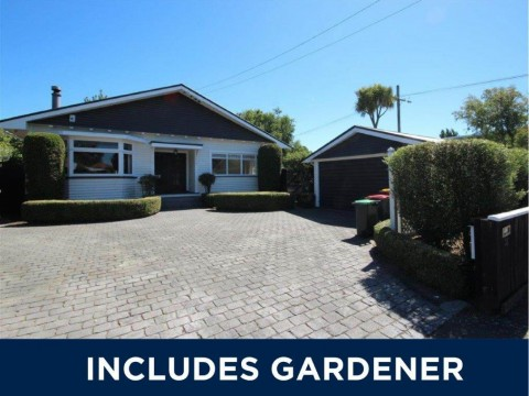 View profile: ILAM - 3-4 BEDROOM HOUSE, 3 X HEATPUMPS, LARGE FENCED SECTION, INCLUDES A GARDENER