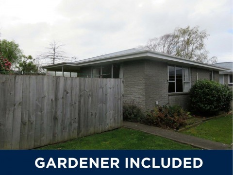 View profile: PAPANUI - TWO BEDROOM UNIT, HEATPUMP, INCLUDES GARDENER