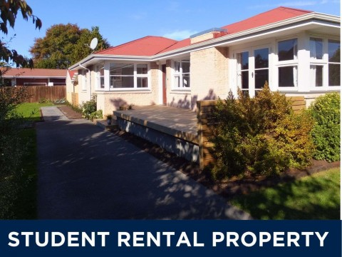 View profile: STUDENT ACCOMMODATION - 4X BEDROOMS, 2X HEATPUMPS