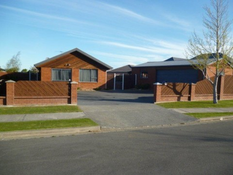 View profile: RANGIORA, 4 BEDROOM FAMILY HOME, LARGE GARAGING, CAT NEGOTIABLE